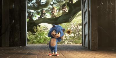 Revelan escena eliminada de Sonic cuando era bebé