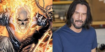 Keanu Reeves podría unirse al MCU como Ghost Rider