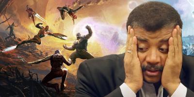 Neil DeGrasse Tyson se declara fan de Marvel pero cuestiona la ciencia de sus superhéroes