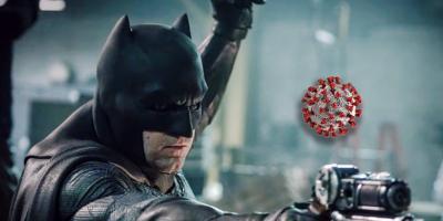 Batman apareció con su batimóvil en las calles de México para luchar contra el coronavirus