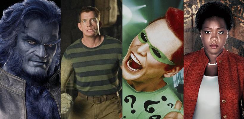Buenas actuaciones en películas de superhéroes mediocres
