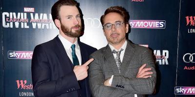 Chris Evans y los fans de Marvel celebran el cumpleaños de Robert Donwey Jr.