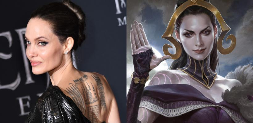 Angelina Jolie podría protagonizar el live-action de Magic: The Gathering