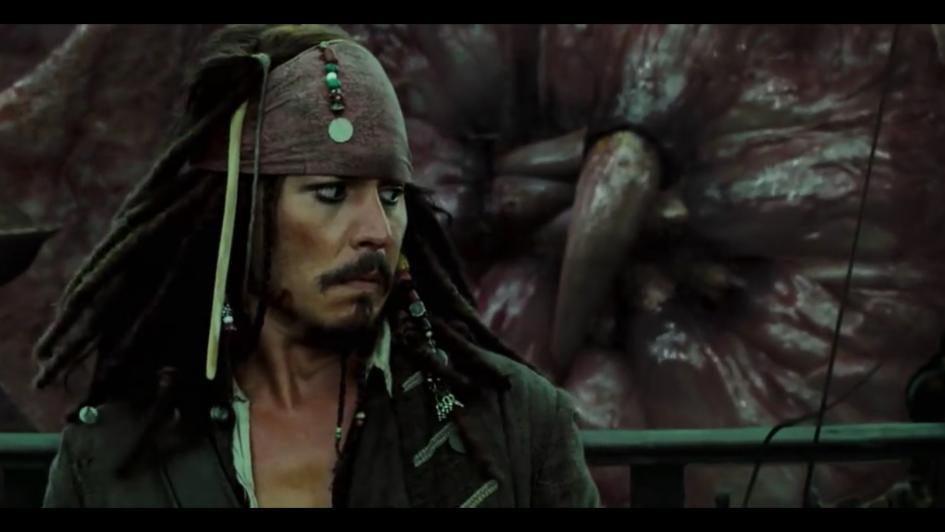 Piratas Del Caribe El Cofre De La Muerte Jack Sparrow Y El Kraken Tomatazos