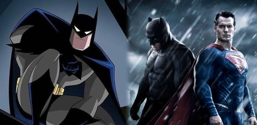 Batman: The Animated Series rinde homenaje a Batman v Superman en nuevo cómic