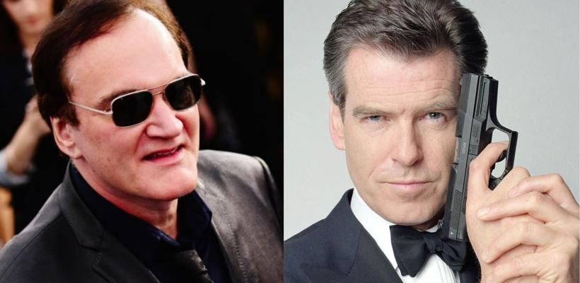 Pierce Brosnan revela que Quentin Tarantino tiene una idea para una gran película de James Bond