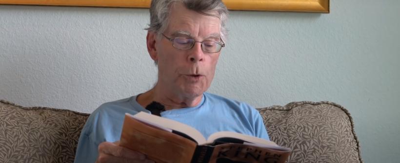 Stephen King lee el primer capítulo de If It Bleeds