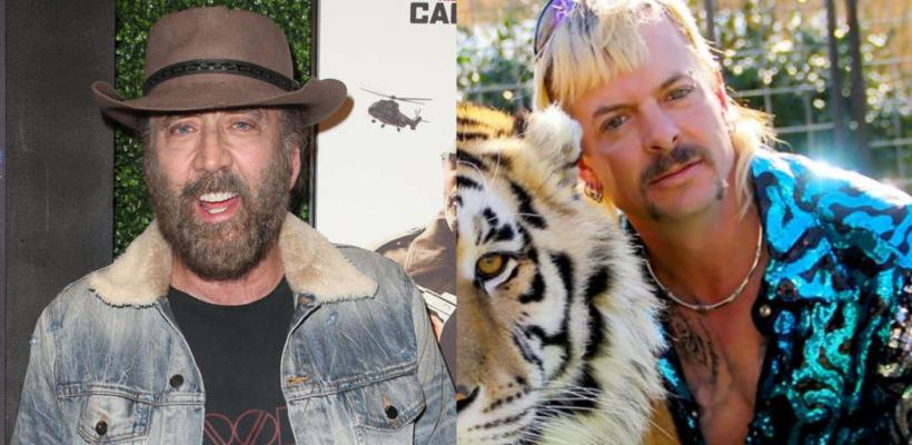 Tiger King: Nicolas Cage será Joe Exotic en serie de CBS