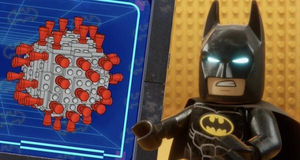 Lego Batman - Covid-19