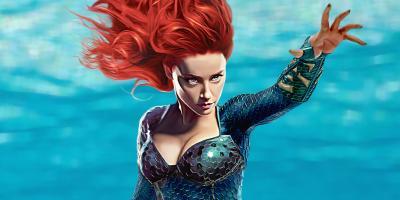 Amber Heard no ha sido despedida de Aquaman 2, a pesar de rumores