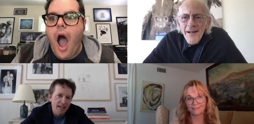 Elenco de Volver al Futuro tiene histórica videollamada y hablan sobre una cuarta entrega