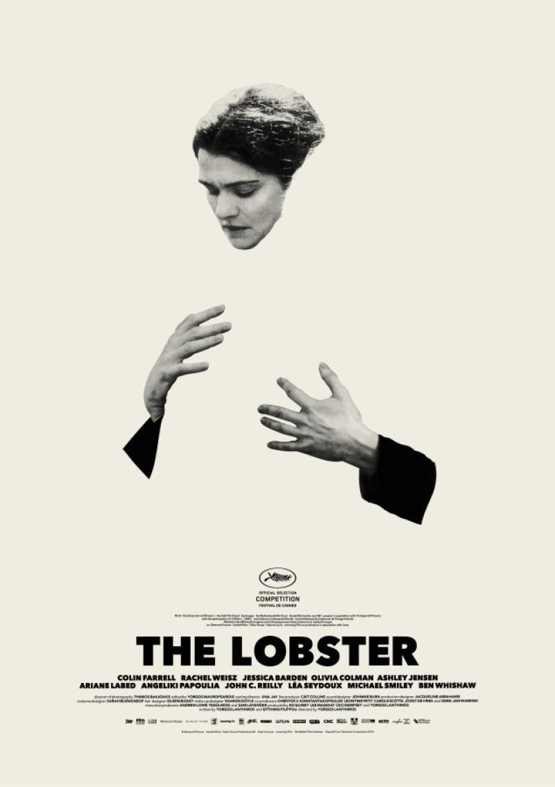 Póster oficial de The Lobster (2015).