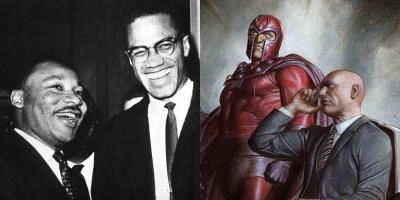 La gran mentira: el Profesor X y Magneto no están basados en Martin Luther King y Malcolm X