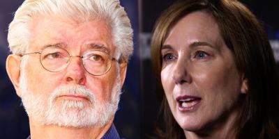George Lucas está muy arrepentido de haber dejado a Kathleen Kennedy a cargo de Star Wars