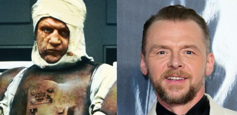 Simon Pegg quiere interpretar a Dengar en The Mandalorian