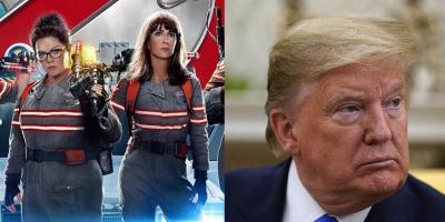 Director de Cazafantasmas culpa a Donald Trump por el fracaso de su película