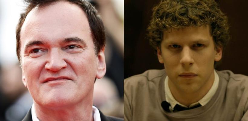 Quentin Tarantino declara que La Red Social es la mejor película de la última década