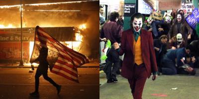 De Gotham a Minneapolis: Joker se hace presente en las protestas contra el asesinato de George Floyd