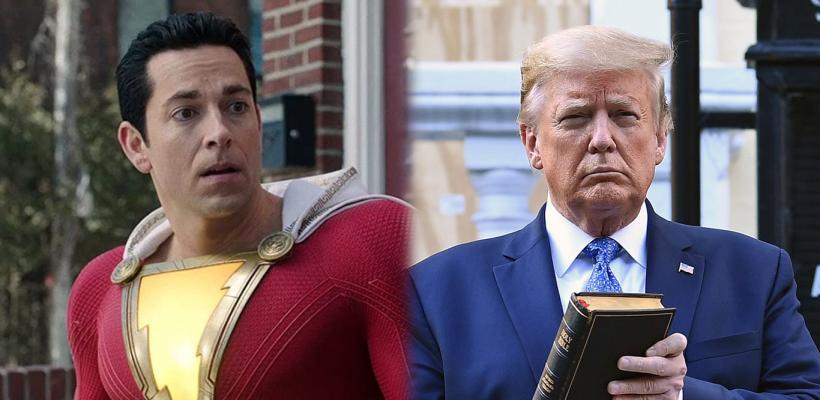 Zachary Levi (Shazam) asegura que Trump se burla de la Biblia y los cristianos en secreto