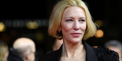 Cate Blanchett tuvo un accidente con una motosierra durante la cuarentena