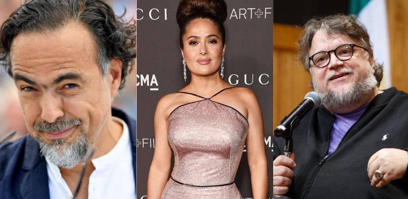 Guillermo del Toro, Iñárritu y Salma Hayek crean fondo de apoyo para la industria del cine mexicano