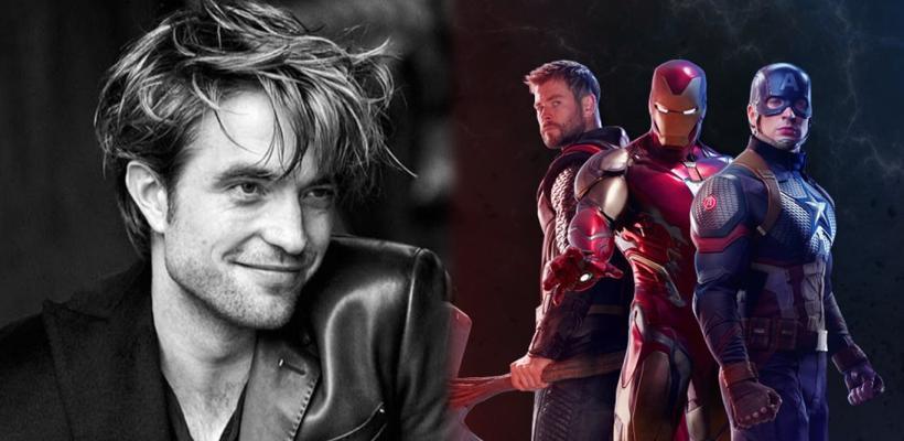 Robert Pattinson dice que Chris Evans, Chris Hemsworth y Robert Downey Jr. son su inspiración