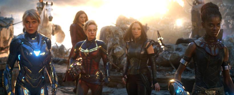 Avengers: Endgame   Vengadoras reunidas: escena y comentarios de las actrices