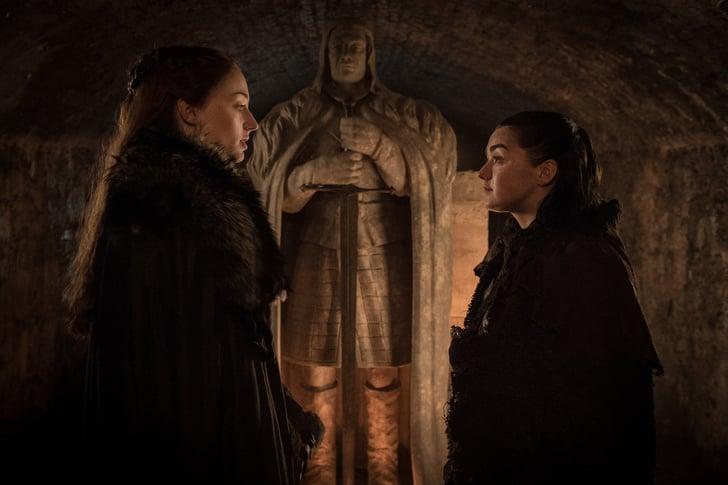 Las hermanas Stark frente a Ned