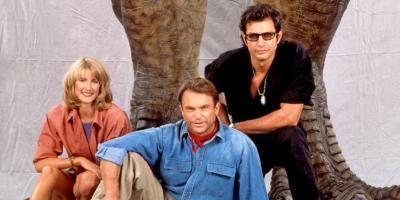 Trío original de Jurassic Park tendrá gran protagonismo en Jurassic World: Dominion, revela Sam Neill