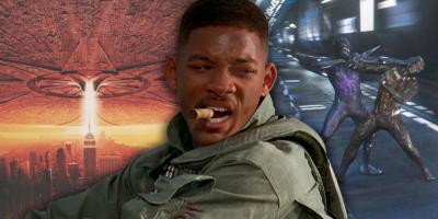Por qué Día de la Independencia tiene mejores efectos visuales que las películas de Marvel