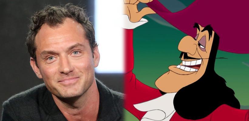 Jude Law será el Capitán Garfio en el remake live-action de Peter Pan