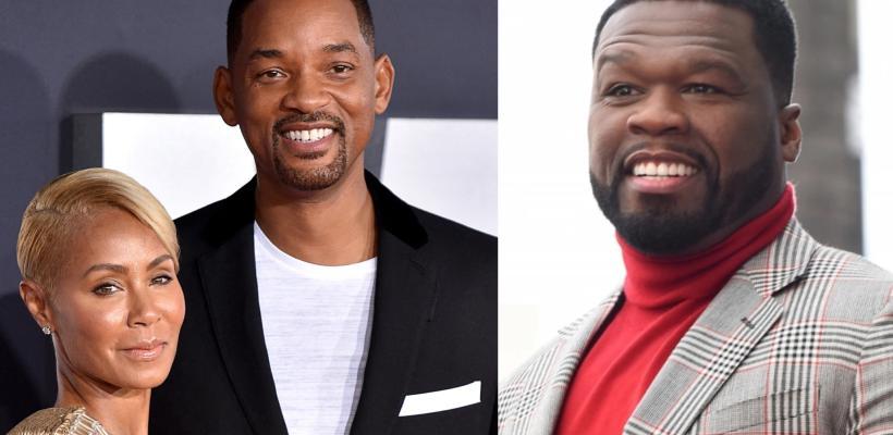 Will Smith se enfurece con 50 Cent tras cuestionarlo sobre el romance de Jada Pinkett Smith