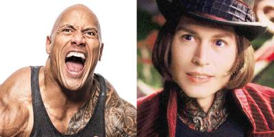 Dwayne Johnson revela que Tim Burton lo consideró para el papel de Willy Wonka