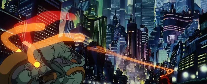 Akira (1988) - Opening Scene