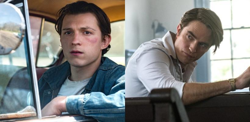 Primeras imágenes de Tom Holland y Robert Pattinson en The Devil All the Time, la nueva película de Netflix