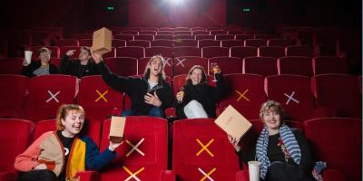Cines podrán abrir en semáforo naranja a un cuarto de su capacidad
