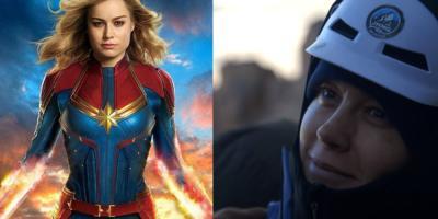 Brie Larson revela que escaló el Grand Teton como parte de su entrenamiento para Capitana Marvel
