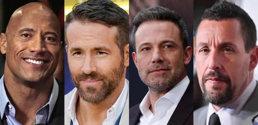 Dwayne Johnson y Ryan Reynolds encabezan lista de Forbes de los actores mejor pagados