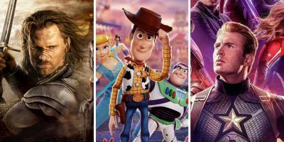 Las 10 mejores franquicias cinematográficas según Rotten Tomatoes