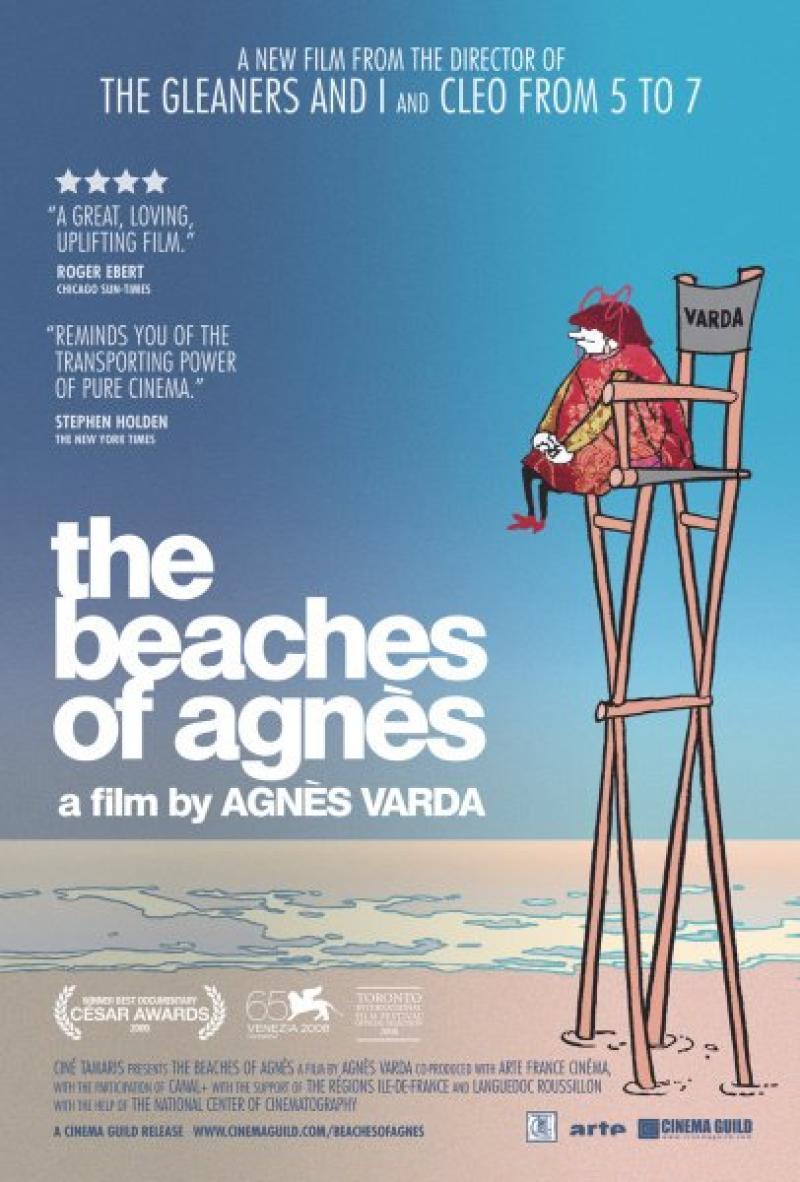 Póster Oficial Las Playas de Agnès (2008)