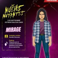 Mirage es interpretada por Blu Hunt