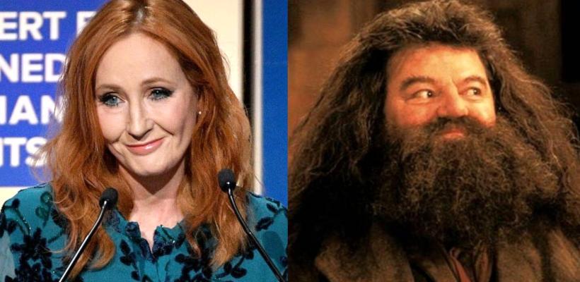 Robbie Coltrane (Hagrid) defiende a J.K. Rowling de los fans: son gente que se ofende por todo