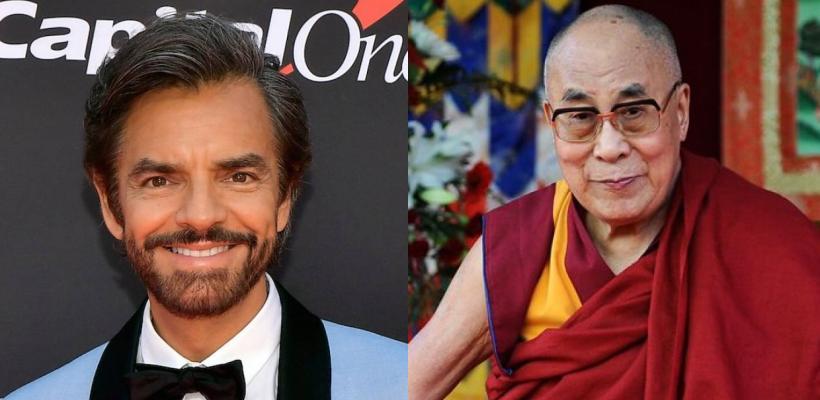 Eugenio Derbez entrevista al Dalai Lama sin dejar el humor de lado