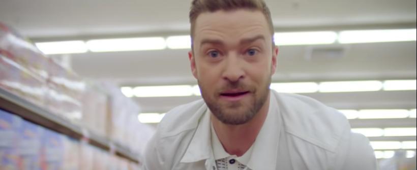 Videoclip de Can't Stop the Feeling de Justin Timberlake (Trolls)
