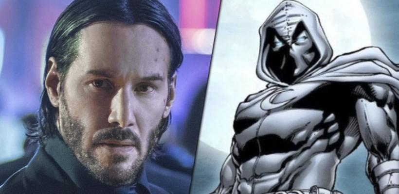 Marvel Studios aún quiere a Keanu Reeves para interpretar a Moon Knight en el MCU