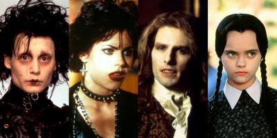 Personajes emblemáticos de la subcultura gótica en el cine