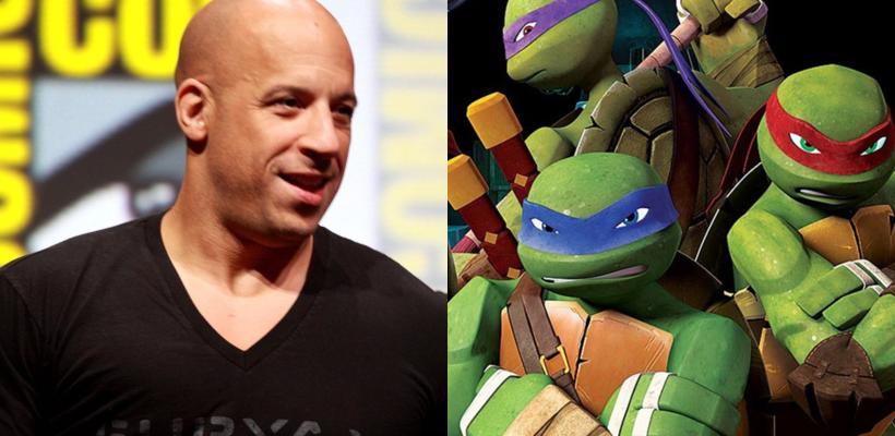Vin Diesel estaría interesado en unirse al reboot de Las Tortugas Ninja