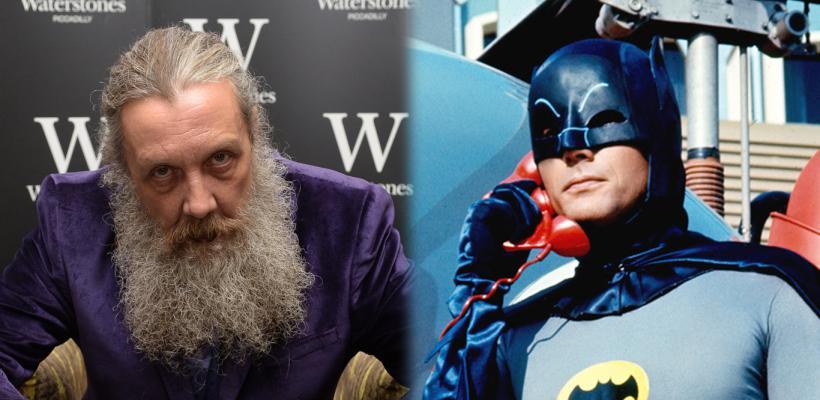 Alan Moore asegura que Adam West es el mejor Batman de la historia