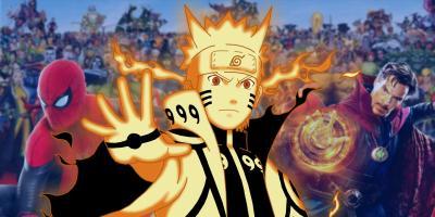 5 personajes de Marvel a los que Naruto podría vencer (y 5 a los que no)
