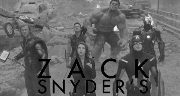 Tráiler de Los Vengadores al estilo de Zack Snyder